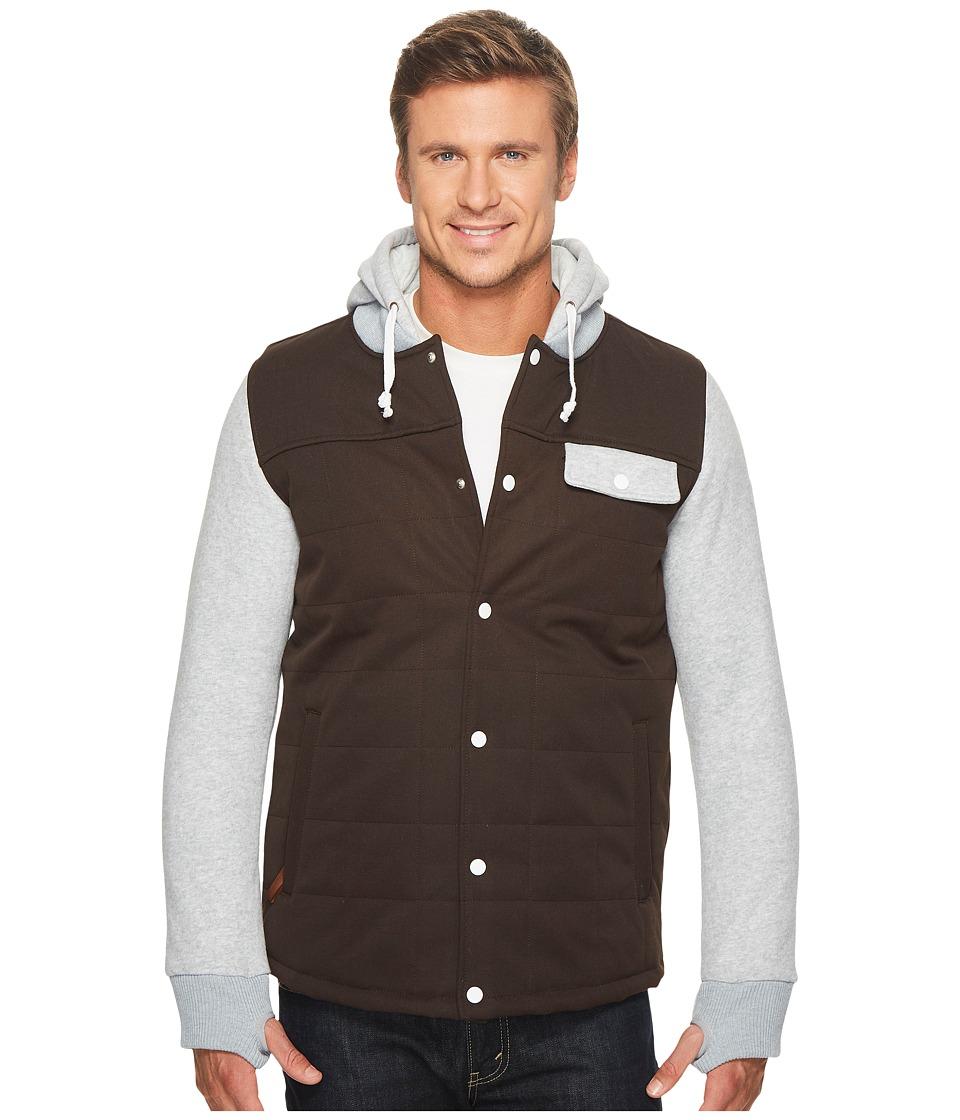 Image of 686 - Bedwin Insulated Jacket (Espresso) Men's Coat