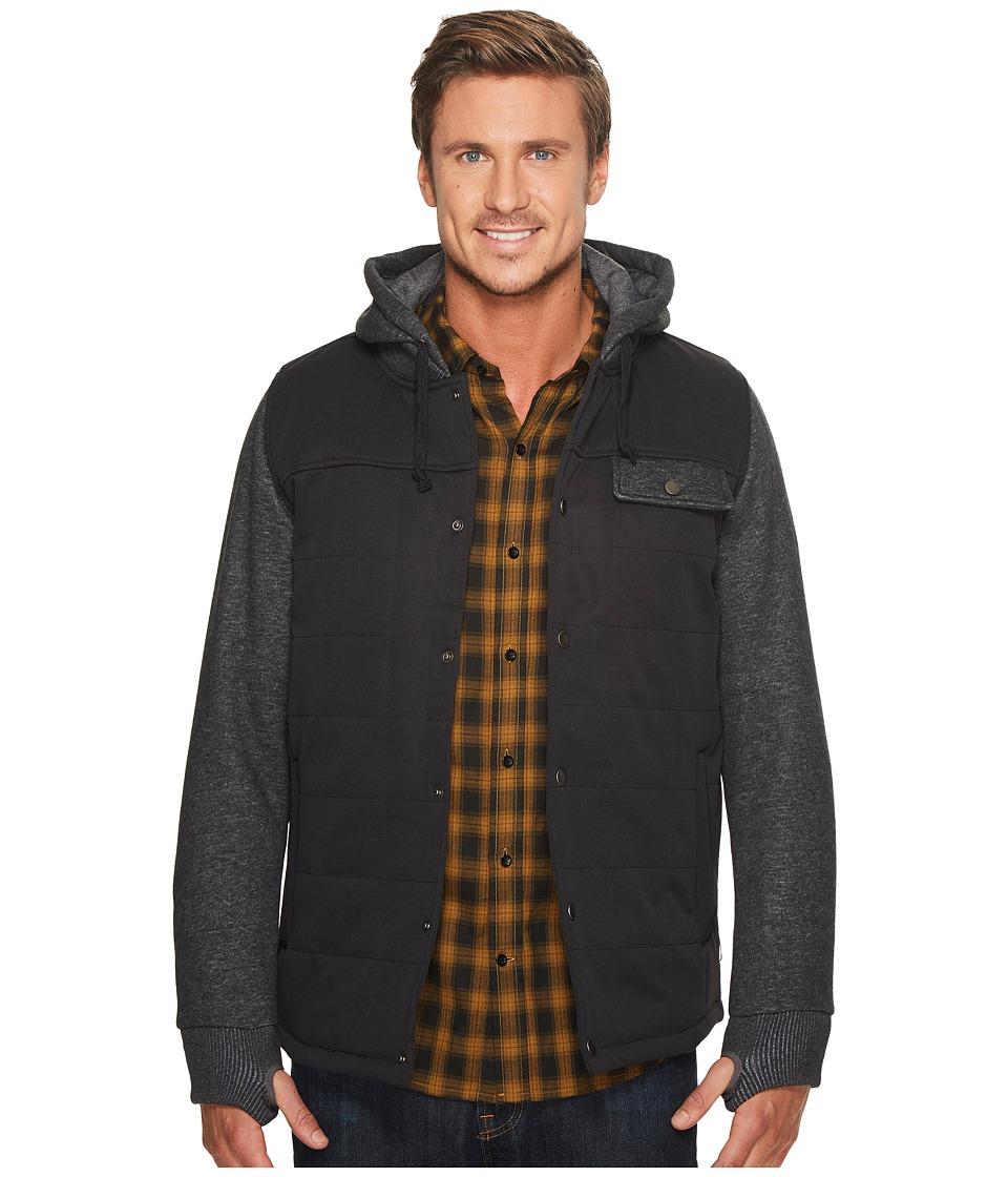 Image of 686 - Bedwin Insulated Jacket (Black) Men's Coat