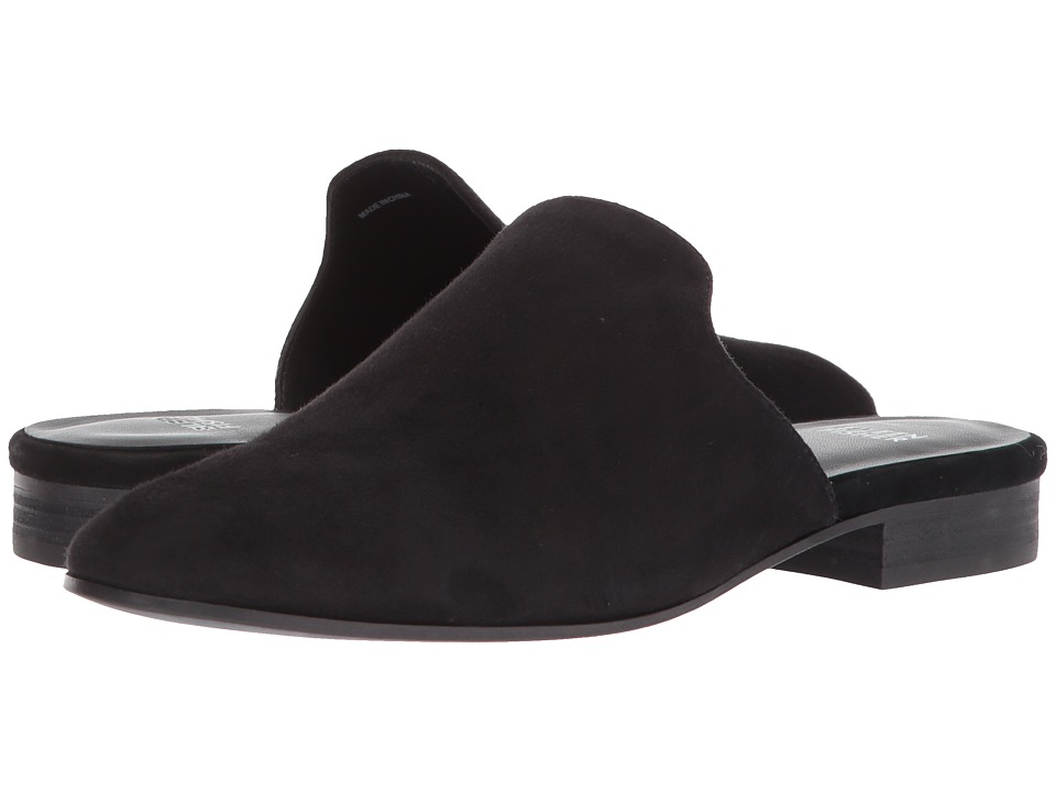 Eileen Fisher - Dion (Black Suede) Womens Slip on  Shoes