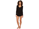 Only Hearts Feather Weight Rib Long Sleeve Romper