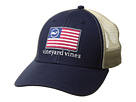 Vineyard Vines American Flag Whale Line Trucker