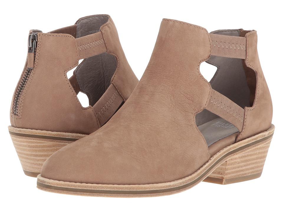 Eileen Fisher - Vanda Cutout (Earth Tumbled Nubuck) Womens 1-2 inch heel Shoes