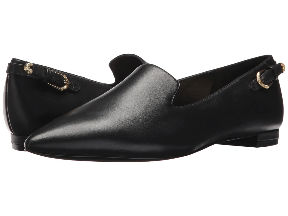 Nine West Andsey (Black Leather) Women