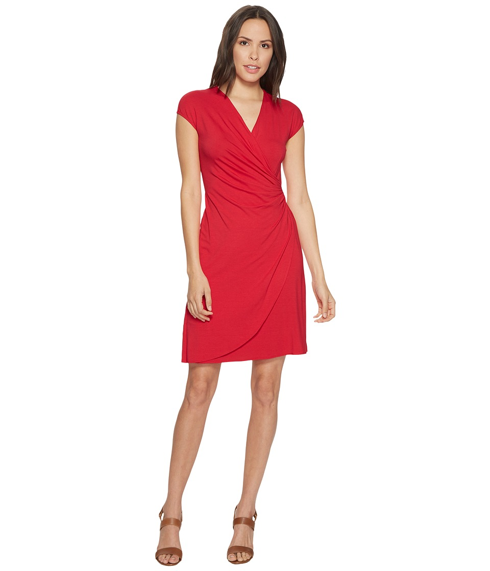 Tommy Bahama - Tambour Side Gathered Dress (Virtual Pink) Womens Dress