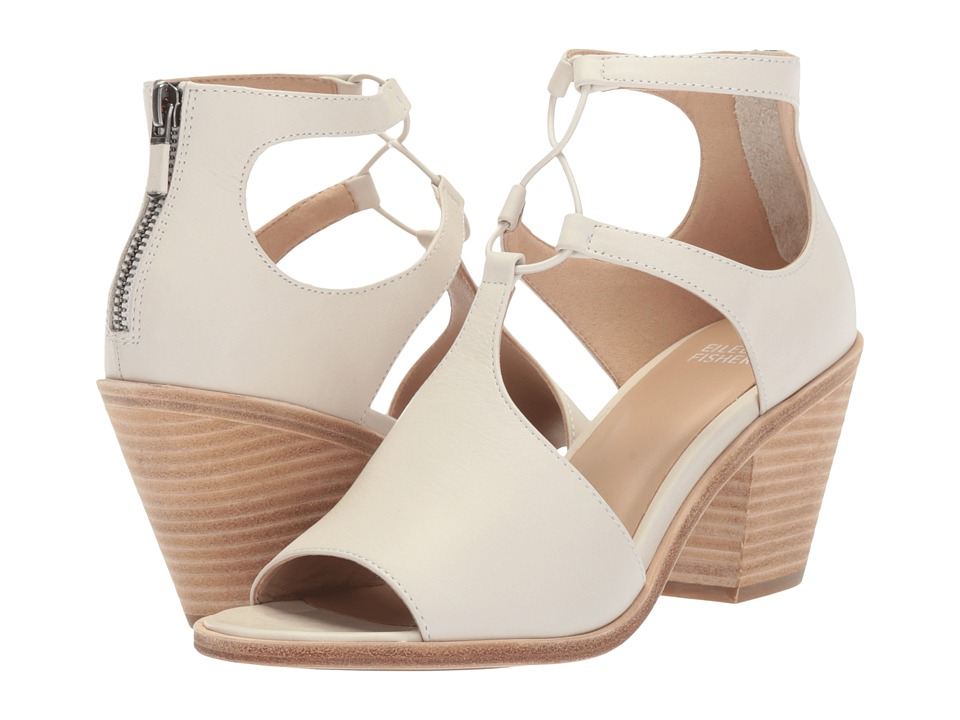 Eileen Fisher Lou (Bone Washed Leather) High Heels