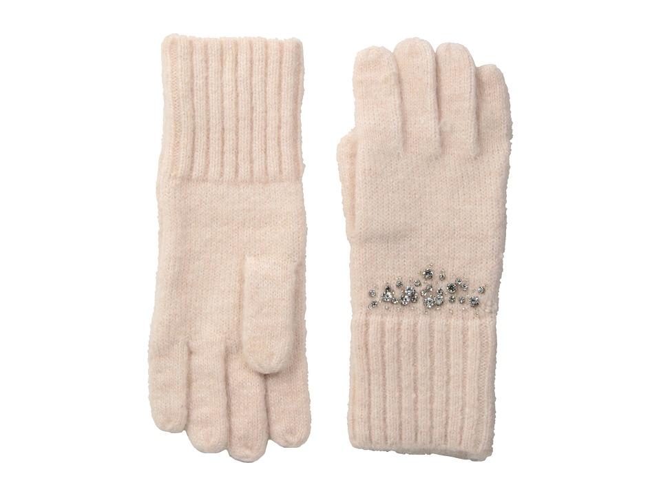 LAUREN Ralph Lauren Modern Jewel Glove (Pale Rose) Dress Gloves