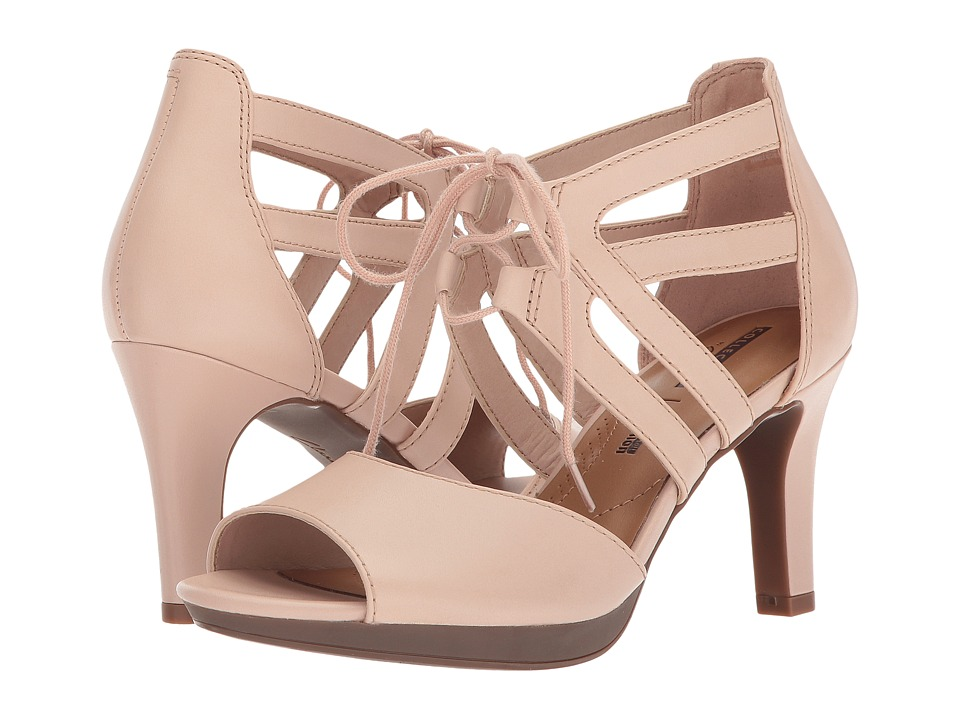 Clarks - Adriel Elaina (Cream Leather) High Heels