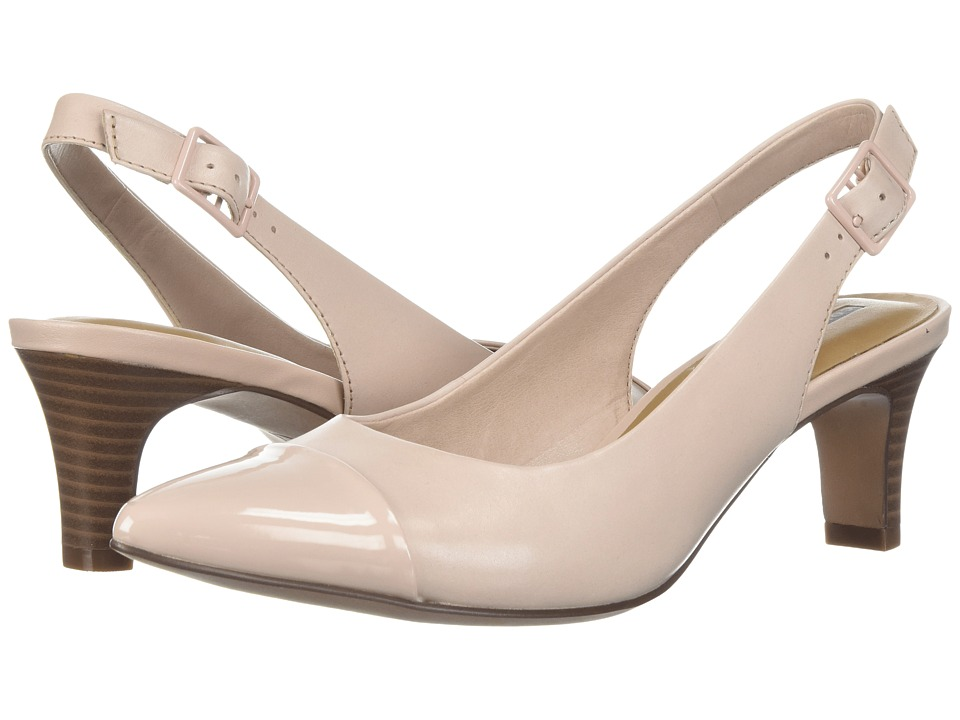 Clarks - Crewso Emmy (Dusty Pink) Womens 1-2 inch heel Shoes
