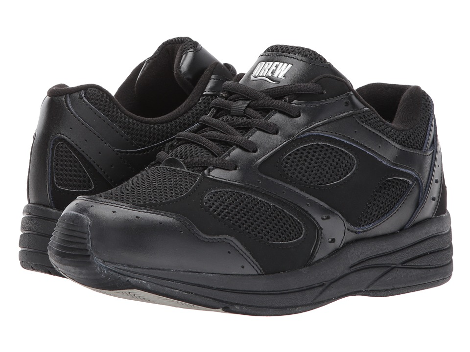 Drew - Flare (Black Combo) Womens Walking Shoes