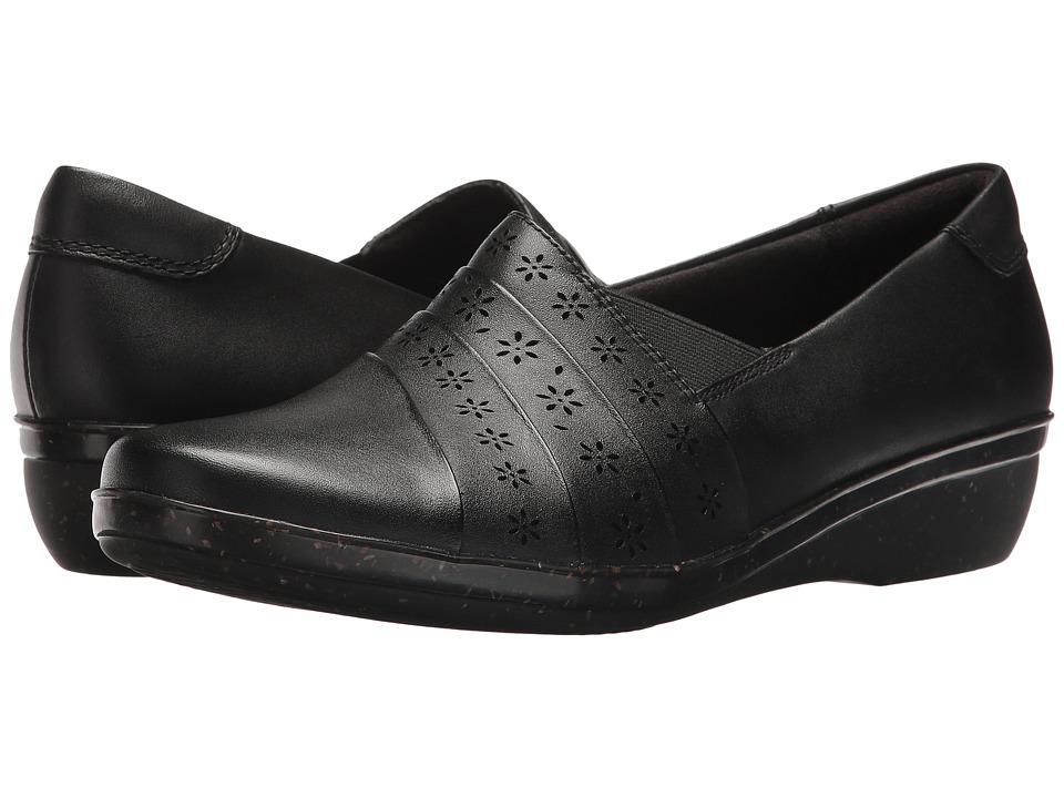 Clarks Everlay Uma (Black) Women's Shoes