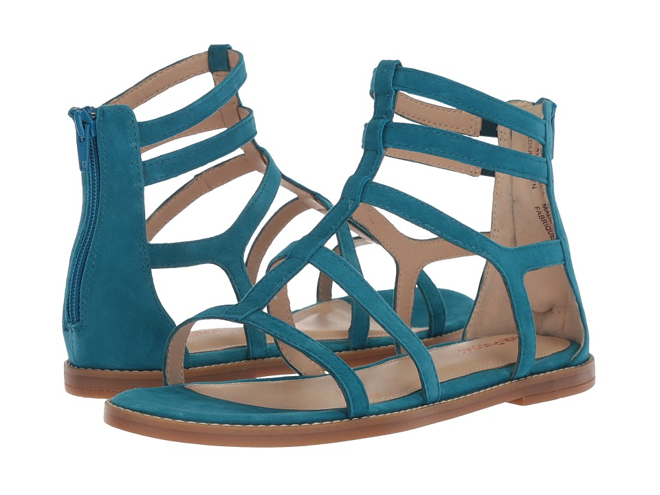 Hush Puppies Abney Chrissie Lo (Celestial Blue Suede) Sandals
