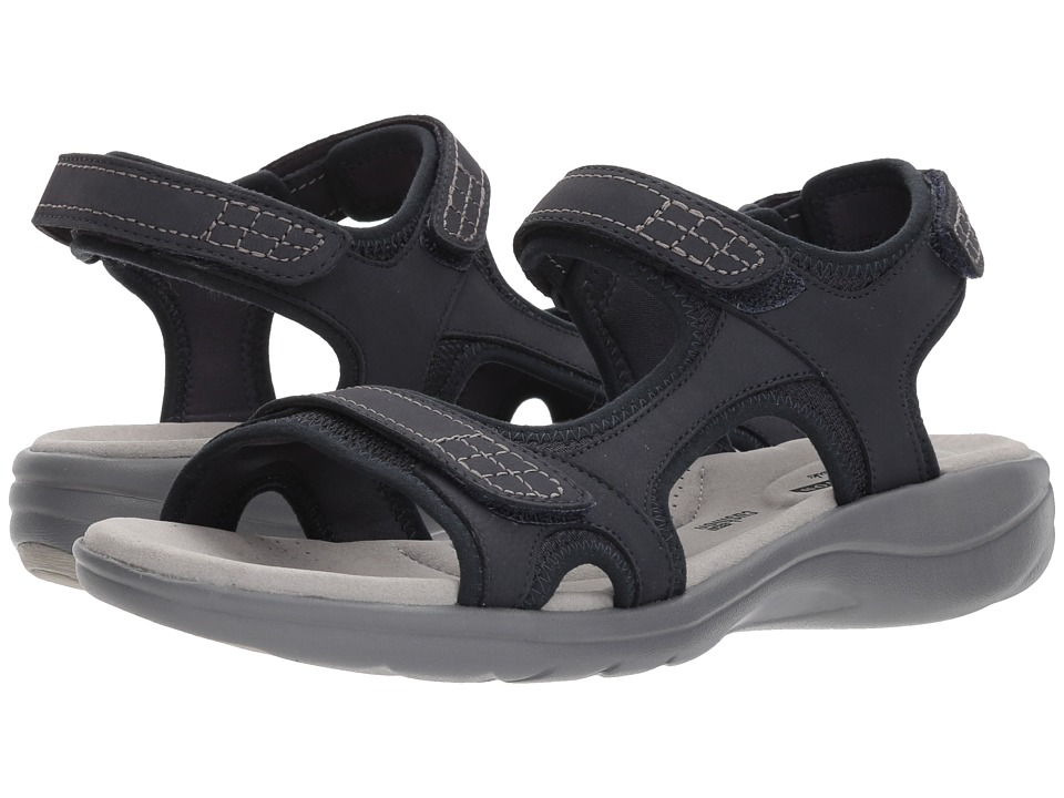 Clarks Saylie Jade (Navy) Sandals