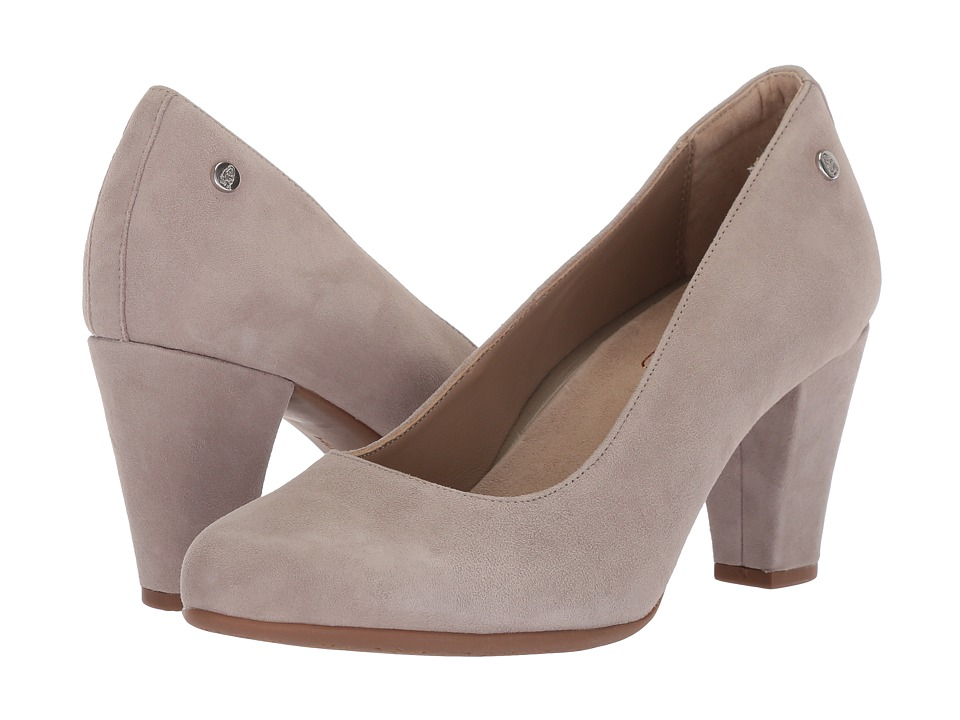 Hush Puppies Minam Meaghan (Ice Grey Suede) High Heels