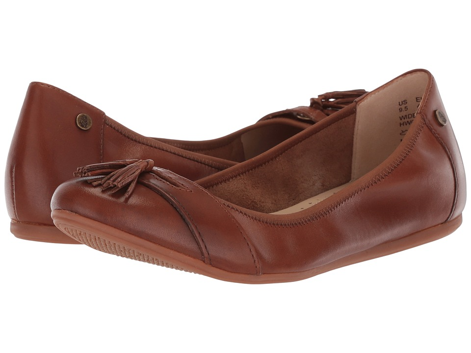 Hush Puppies Heather Tassel (Tan Leather) Flats