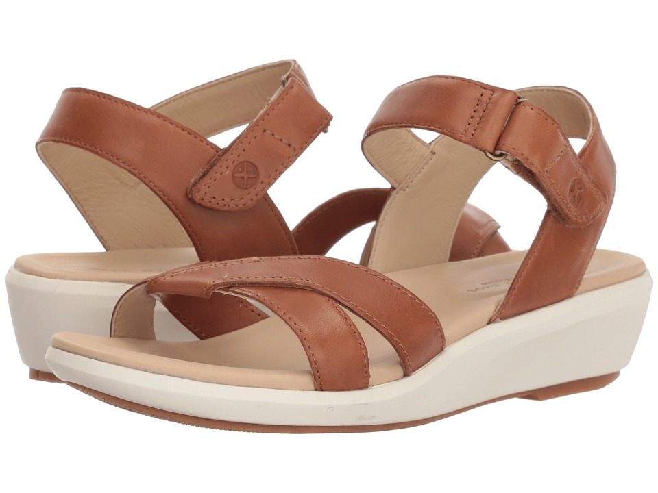 Hush Puppies Lyricale Quarter Strap (Tan Leather) Sandals