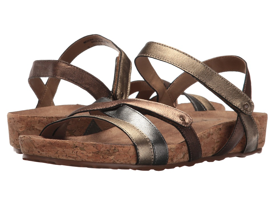 Walking Cradles - Pool (Metallic Multi/Cork Wrap) Women's Sandals
