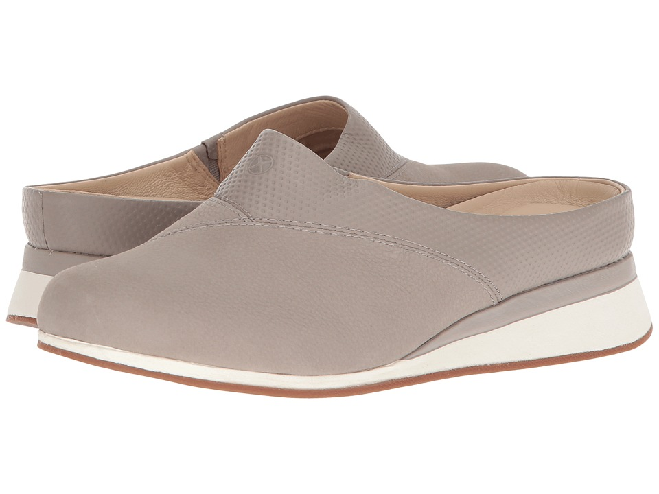 Hush Puppies Evaro Mule (Ice Grey Nubuck) Women's Clog/Mu...