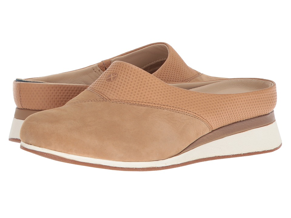 Hush Puppies Evaro Mule (Chino Tan Nubuck) Women's Clog/Mule Shoes