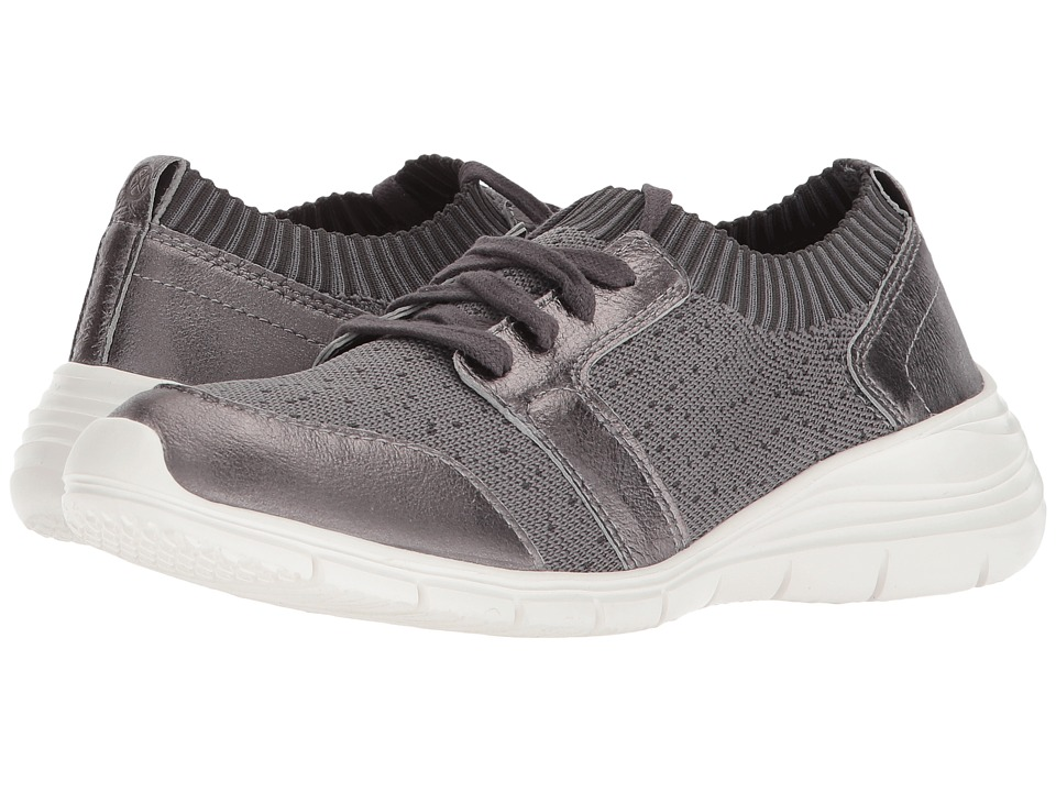 Hush Puppies Cypress Knit Lace-Up (Dark Grey Textile)