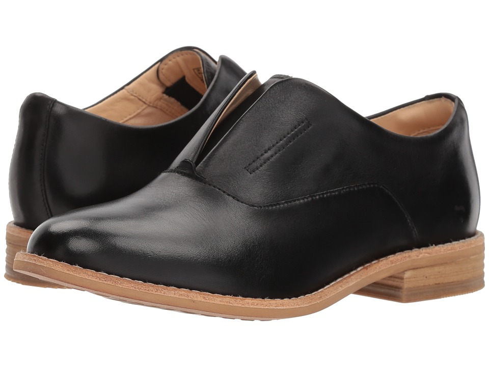 Clarks - Edenvale Opal (Black Leather) Womens Shoes