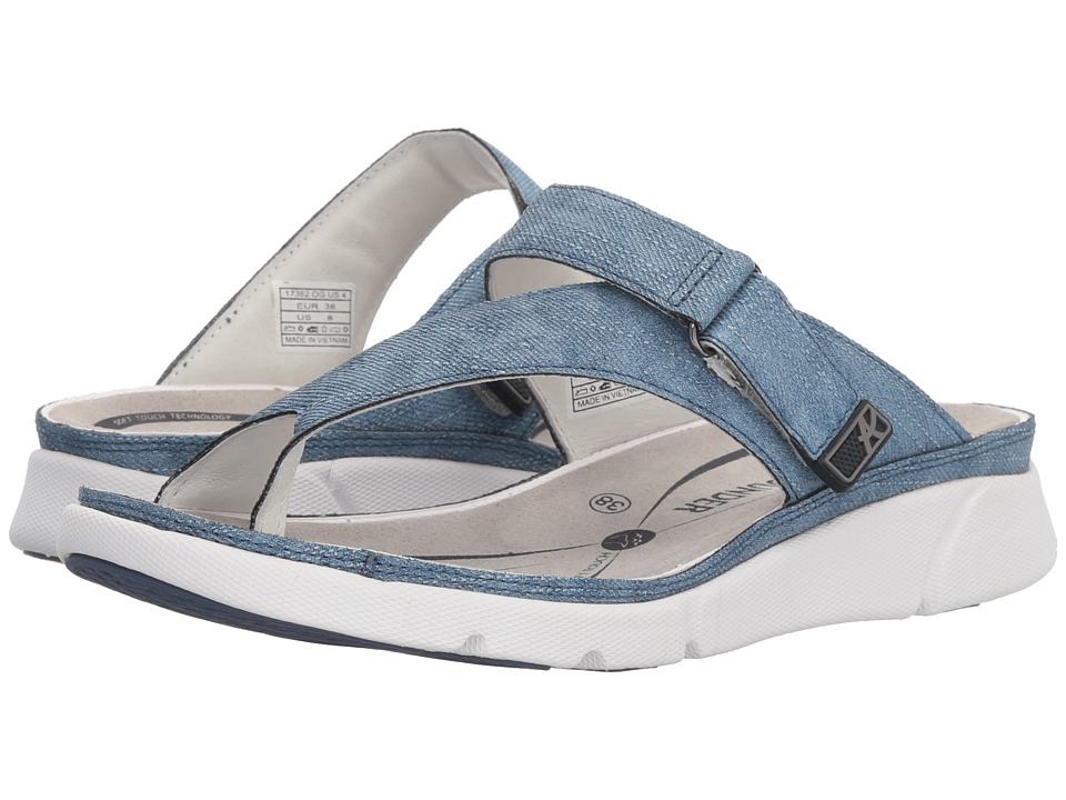 Allrounder by Mephisto - Tokara (Jeans Blue Jeanstyle) Womens Sandals