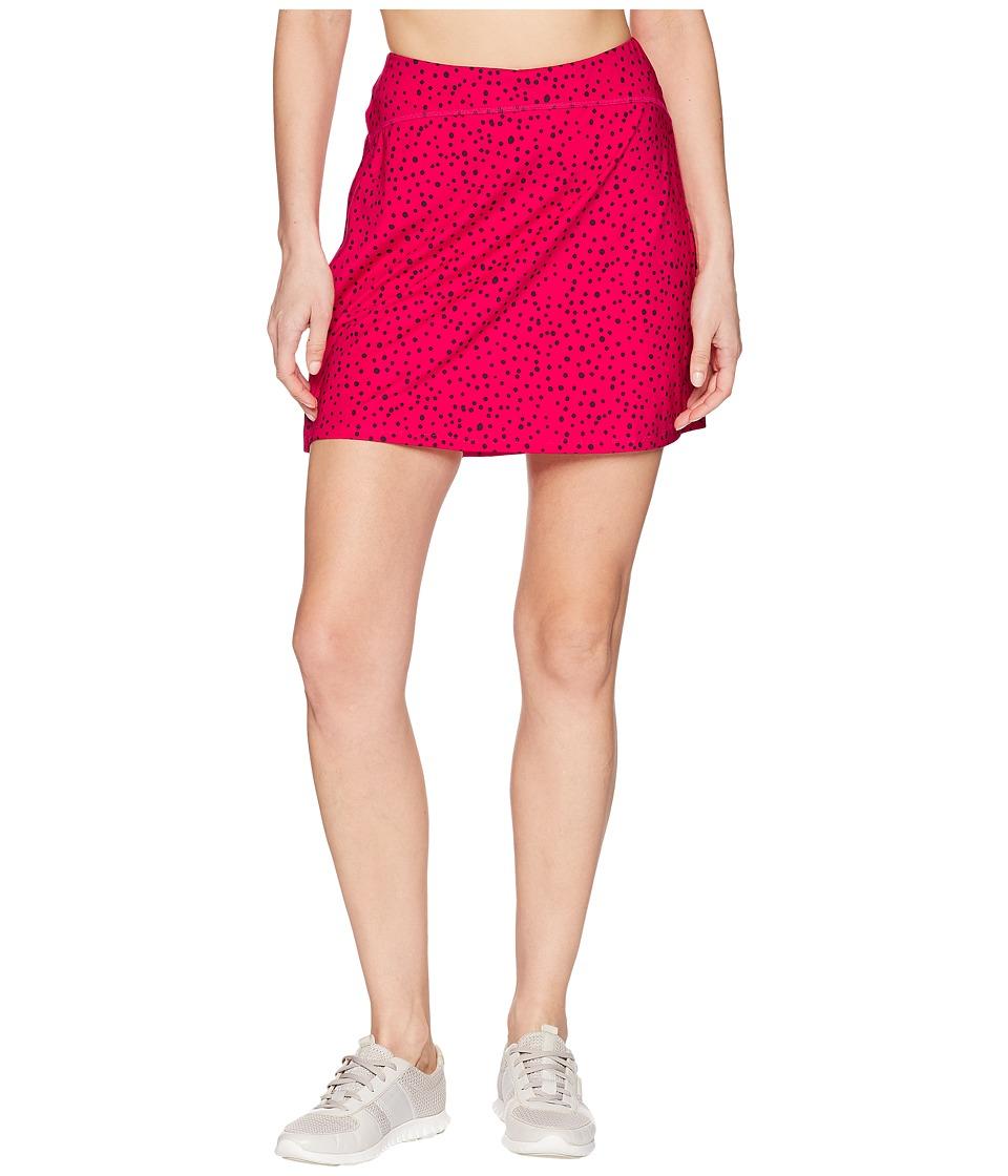 Skirt Sports - Happy Girl Skirt (Bubbly Print) Womens Skort