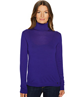 Jil Sander Navy - Wool Long Sleeve Turtleneck