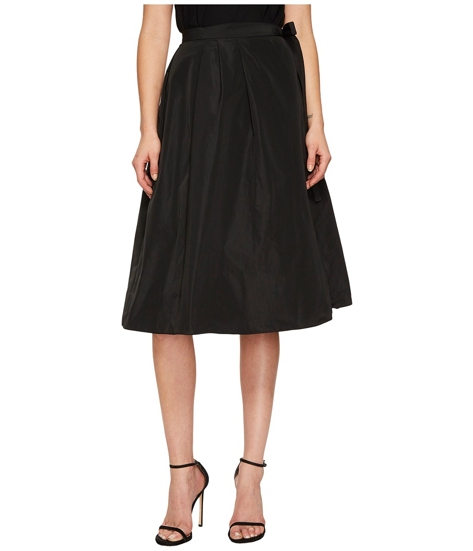 Jil Sander Navy - Pleated Wrap Skirt (Black) Womens Skirt