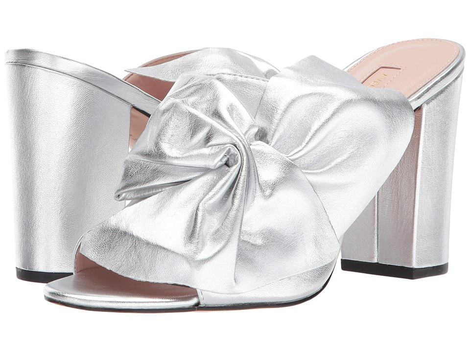 Avec Les Filles - Marie (Silver Metallic Leather) Womens Shoes