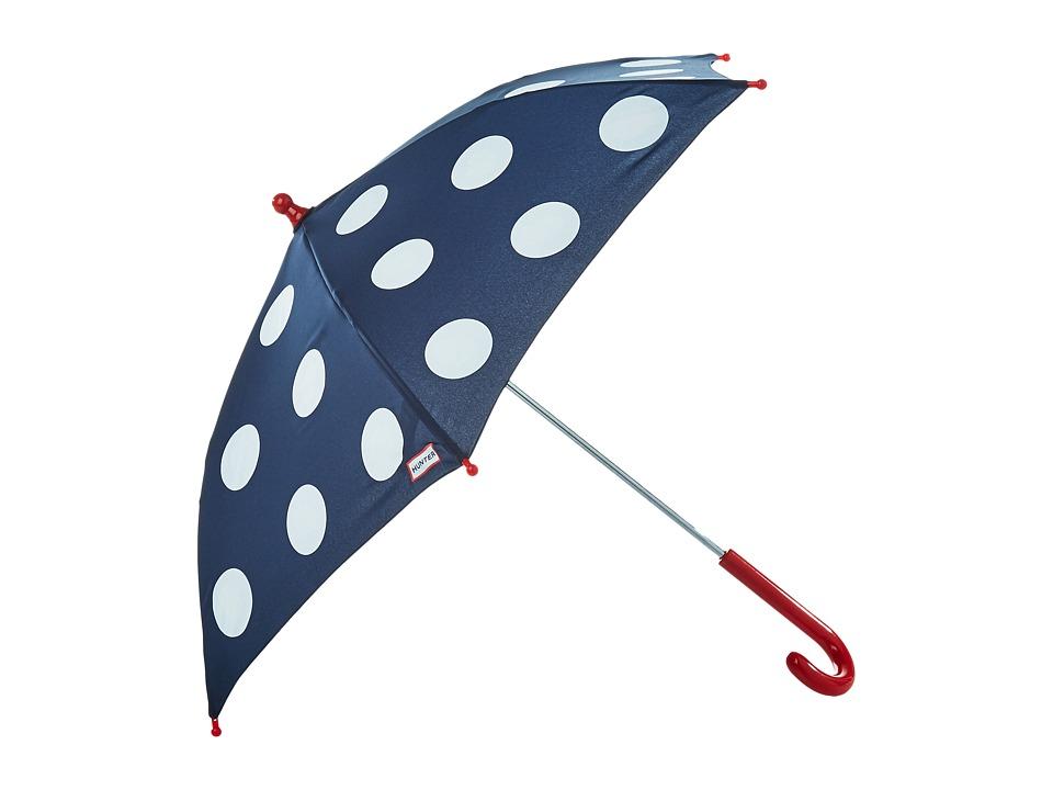 Hunter Kids - Polka Dot Surprise Umbrella (Kids) (Ladybird Print) Umbrella