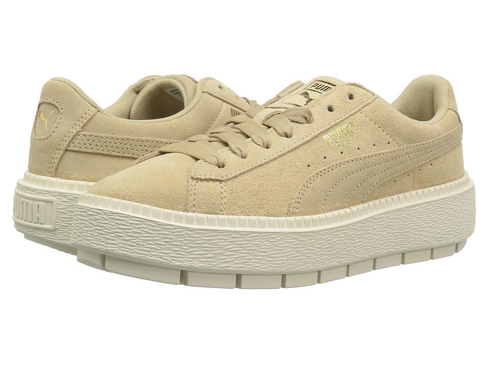 ff737466869 PUMA - Suede Platform Trace (Safari-Marshmallow) Womens Shoes on ...