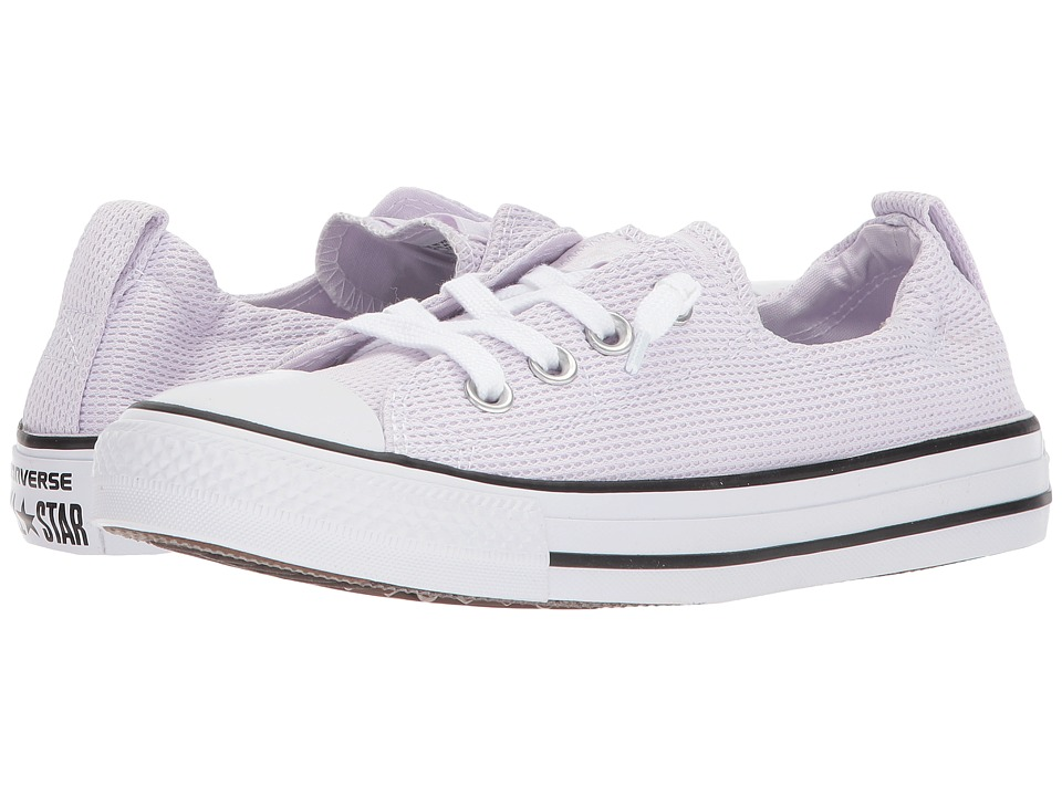 Converse - Chuck Taylor(r) All Star(r) Shoreline Slip-On (Barely Grape/White/Black) Womens Slip on  Shoes