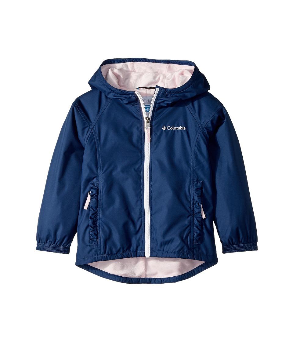 Columbia Kids - Ethan Pondtm Jacket (Toddler) (Carbon) Girls Coat