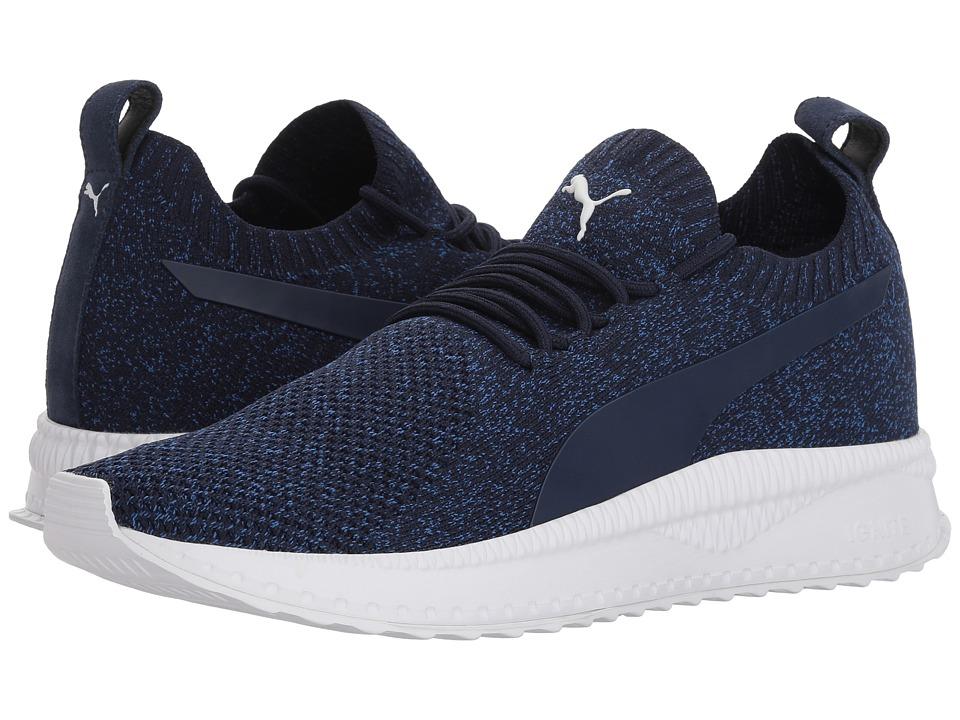 PUMA - Tsugi Apex evoKNIT (Peacoat/Turkish Sea/Puma White) Mens Shoes