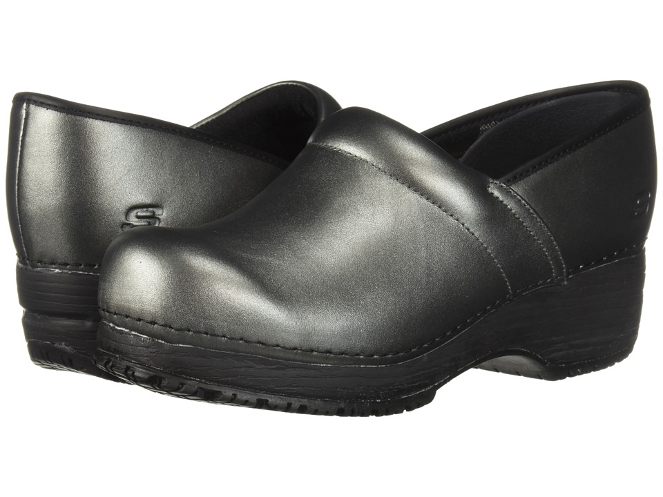 SKECHERS Work Clog (Silver) Clogs