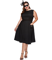 Unique Vintage - Plus Size Eden Sleeveless Dress