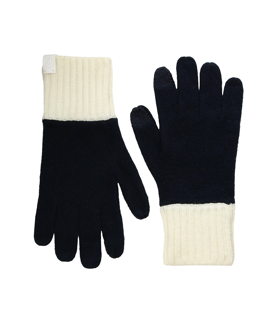 rag & bone - Ace Cashmere Gloves (Navy) Extreme Cold Weather Gloves