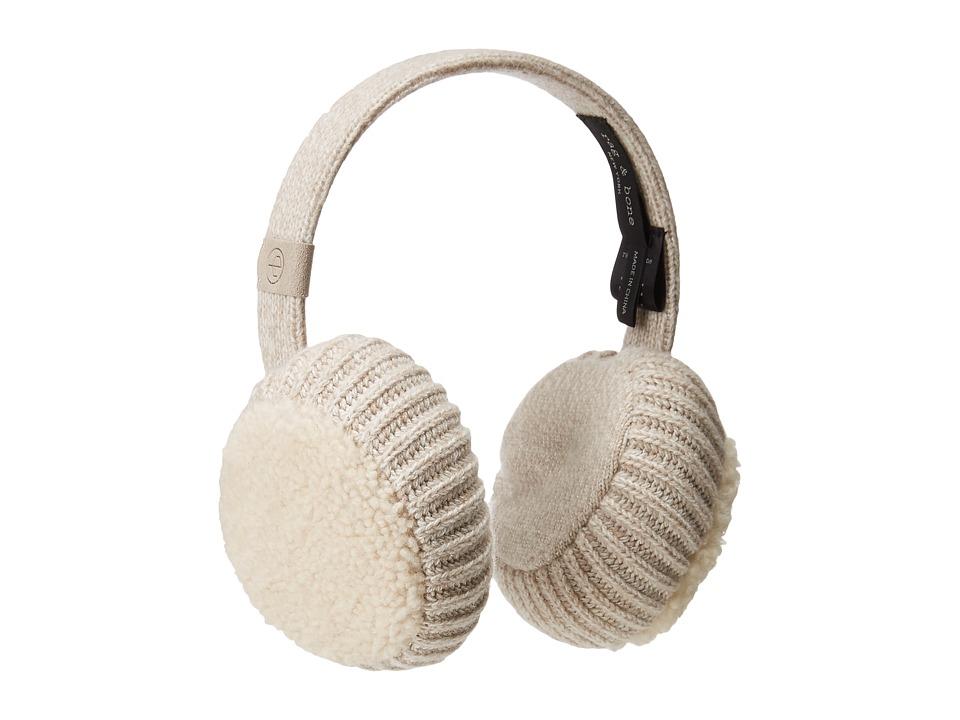rag & bone - Sutton Earmuff (Mink) Caps
