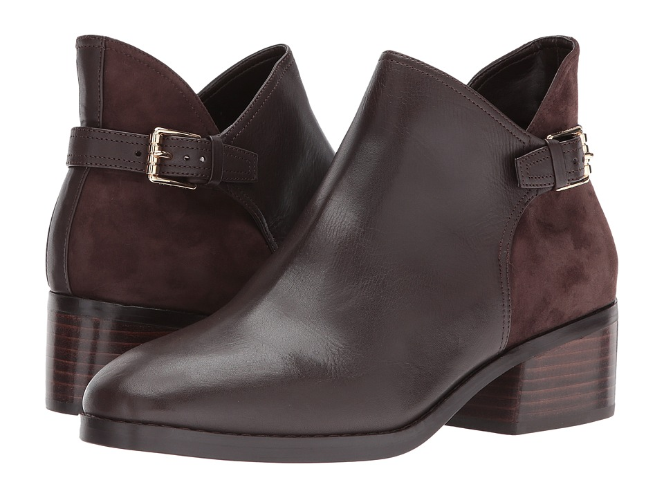 Cole Haan Althea Bootie (Java Leather/Suede) Women