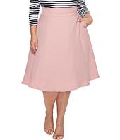 Unique Vintage - Plus Size Vivian Swing Skirt