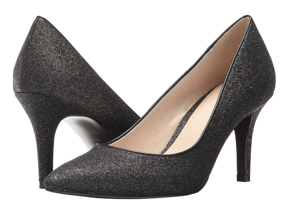 Cole Haan - Juliana Pump 75mm (Black Glitter) High Heels