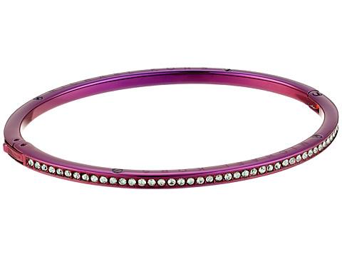 Michael Kors Brilliance Pave Bangle Bracelet - Purple