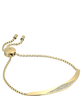 Michael Kors - Brilliance Four Rows of Pave Crystals Slider Bracelet