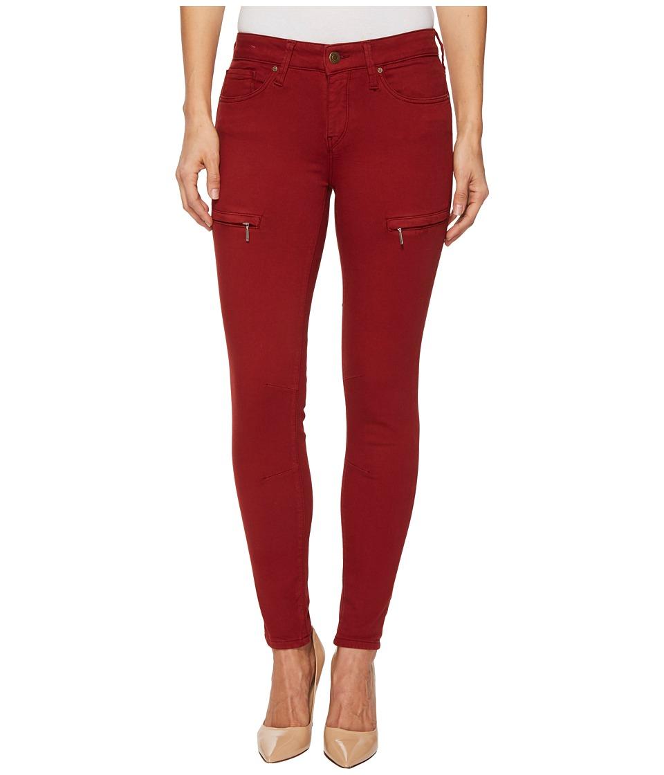 Mavi Jeans Karlina Mid-Rise Ankle Skinny in Brick Twill (Brick Twill) Women