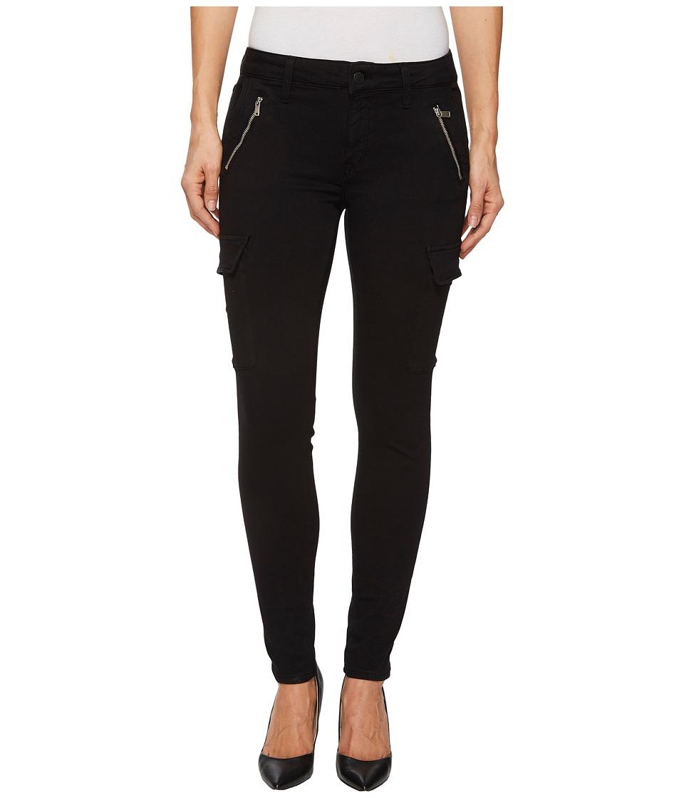Mavi Jeans Juliette Mid-Rise Ankle Skinny in Black Twill (Black Twill) Women