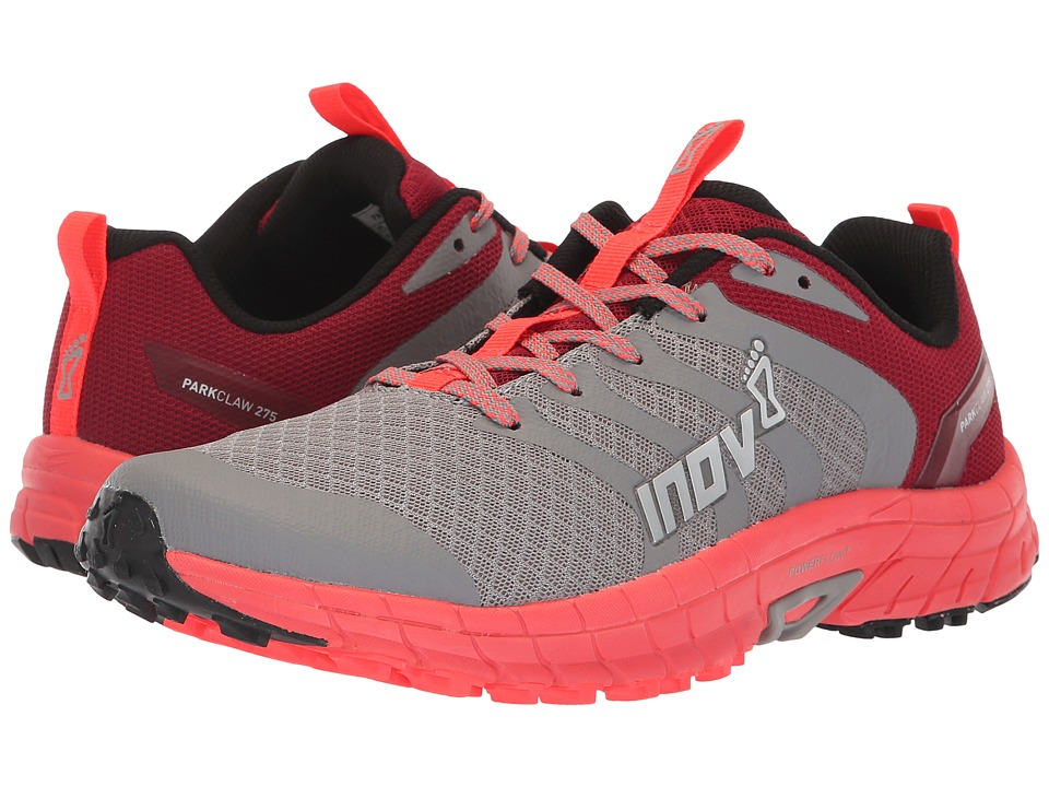 inov-8 Parkclaw 275 (Grey/Coral) Women's Shoes