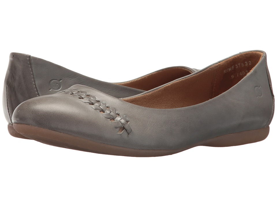 Born Madeleine (Sky Blue Full Grain Leather) Flats