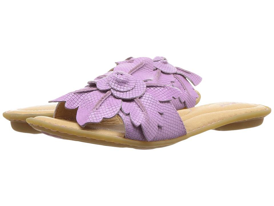 Born Mai Floral (Purple Lilac Embossed Full Grain Leather) Women