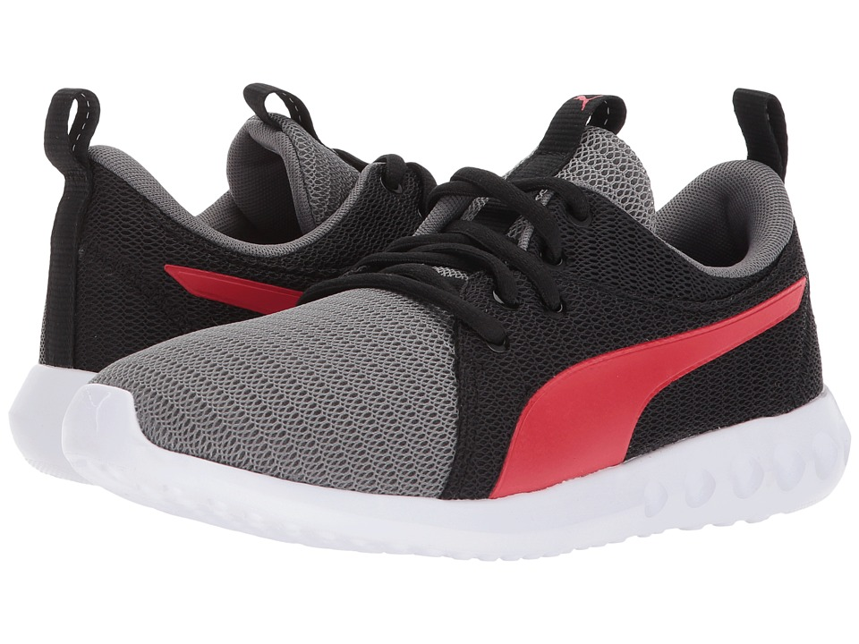 Puma Kids Carson 2 (Big Kid) (Quiet Shade/Flame Scarlet) Boys Shoes