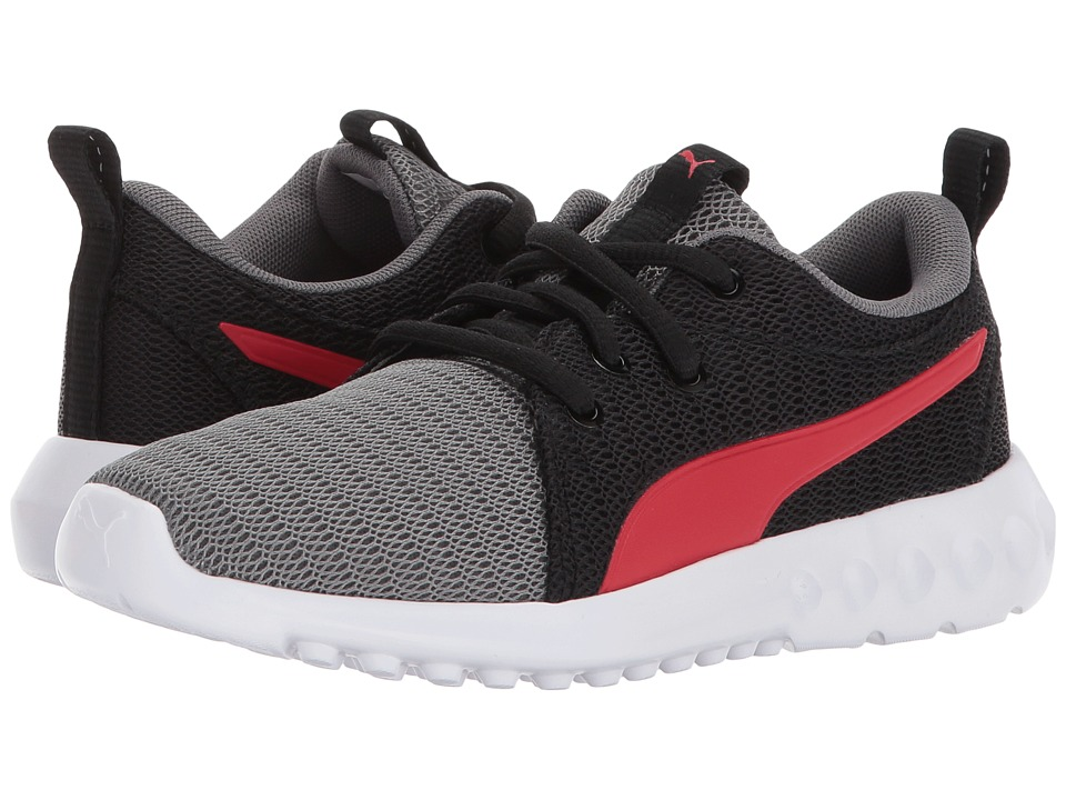 Puma Kids Carson 2 (Little Kid) (Quiet Shade/Flame Scarlet) Boys Shoes